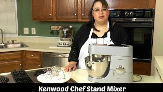 Kenwood Chef Titanium Stand Mixer Test & Review KMC010 ~ Amy L...