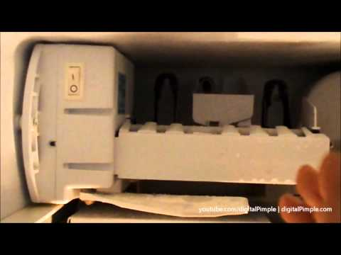 GE Refrigerator – Ice Maker Not Making Ice – Easy Fix and Repair (DIY)