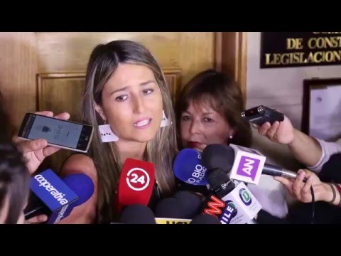 "Diputada Nogueira ""Hoy es un día triste para Chile"""