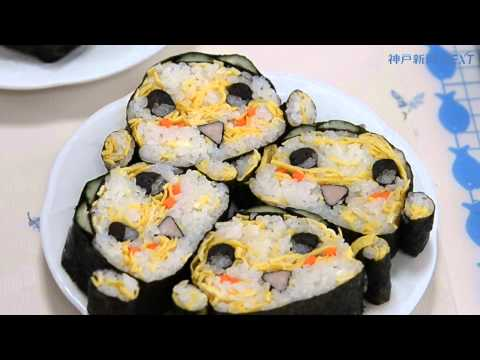 妖怪ウォッチの人気キャラ デコ巻き寿司