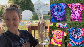 TIE-DYE REVEAL + GARDEN UPDATE!! by Silenced Hippie