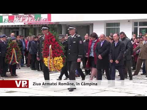 Ziua Armatei Române, în Câmpina