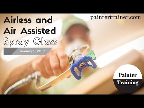 Airless & Air Assisted Spray Class at paintertrainer.comAirless & Air Assisted Spray Class at paintertrainer.com<media:title />