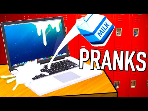 10 Pranks for back to school! (видео)