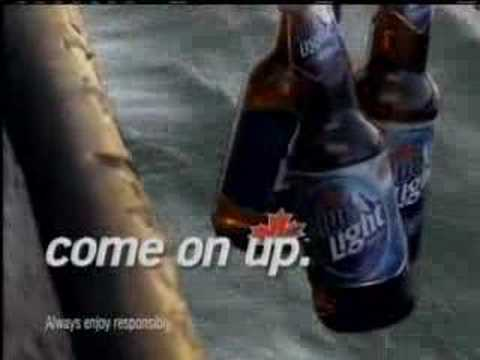 Funny Labatt Blue fish and deer commercials