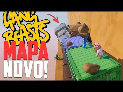 O TREM! - Gang Beasts Momentos engraçados
