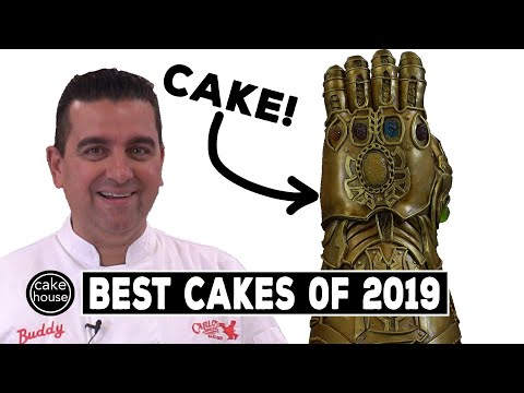 The Cake Boss's Best Cakes of 2019