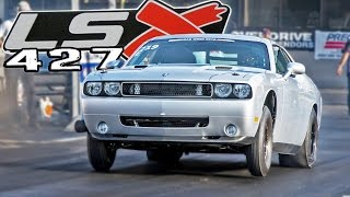 Chevy LSX Powered CHALLENGER - 106mm Turbo! by 1320Video