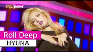 [HOT] HYUNA (feat. Hyojong) - Because I'm The Best, 현아- 잘 나가서 그래 Show Music core 20150905, clip giai tri, giai tri tong hop