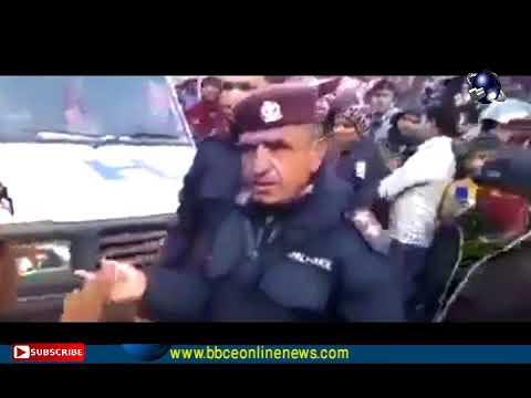(राष्ट्रपतिको सवारीमा एम्बुलेन्स भित्र बिरामी छटपटाई रहदा पनि नेपाल प्रहरीले अस्पल जन दिइएन - D...)