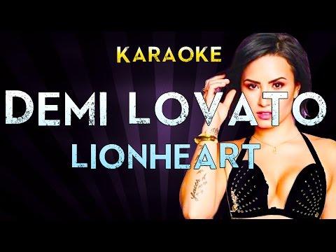 Demi Lovato - Lionheart | Official Karaoke Instrumental Lyrics Cover Sing Along