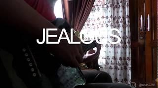 Jealous (Labrinth) - Guitar Instrumental - Fingerstyle Cover - Lyrics