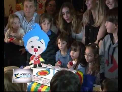 Cumpleaños del Payaso Plim Plim - Andino y el País (América 24) conducido por Guillermo Andino