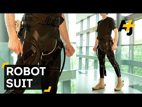 Robotic Suit Could Help The Physically Disabled Move