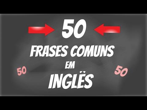 Frases curtas - 50 Frases MUITO COMUNS em INGLÊS - Parte 1