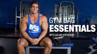 Video 12 Gym Bag Essentials with Calum Von Moger MP3, 3GP, MP4, WEBM, AVI, FLV Juli 2018