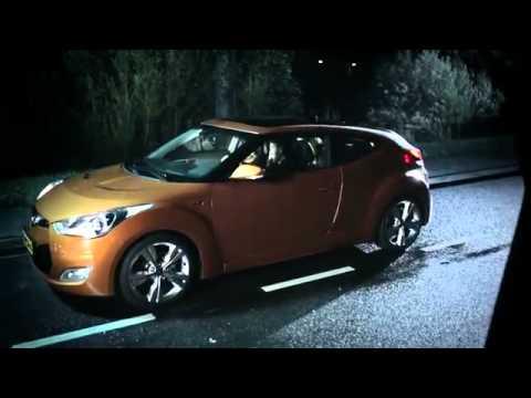 Hyundai  Запрещенная реклама: девушка и смерть. Hyundai