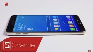 Schannel - Mở hộp Galaxy A9 màn hình 6 inch: Không thá»...