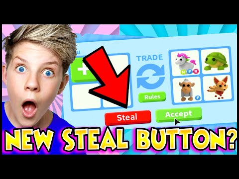 How To Get the STEAL PETS Button in Adopt Me!?! Do These Tik Tok Hacks Actually Work!?! Prezley