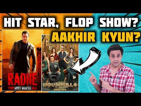 Big Stars, Flop Show! Why? | Salman Khan | Radhe | SRK | Akshay Kumar | Bollywood | RJ Raunak | Baua