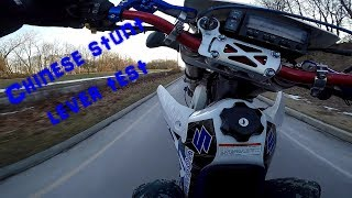 6. drz400 chinese stunt lever good or trash