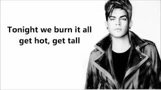Adam Lambert   Pop That Lock Lyrics