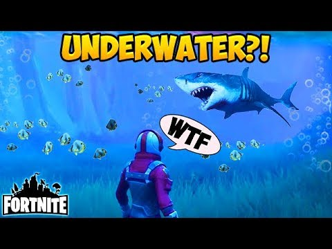 UNDERWATER on FORTNITE? - Fortnite Funny Fails and WTF Moments! #134 (Daily Moments) (видео)