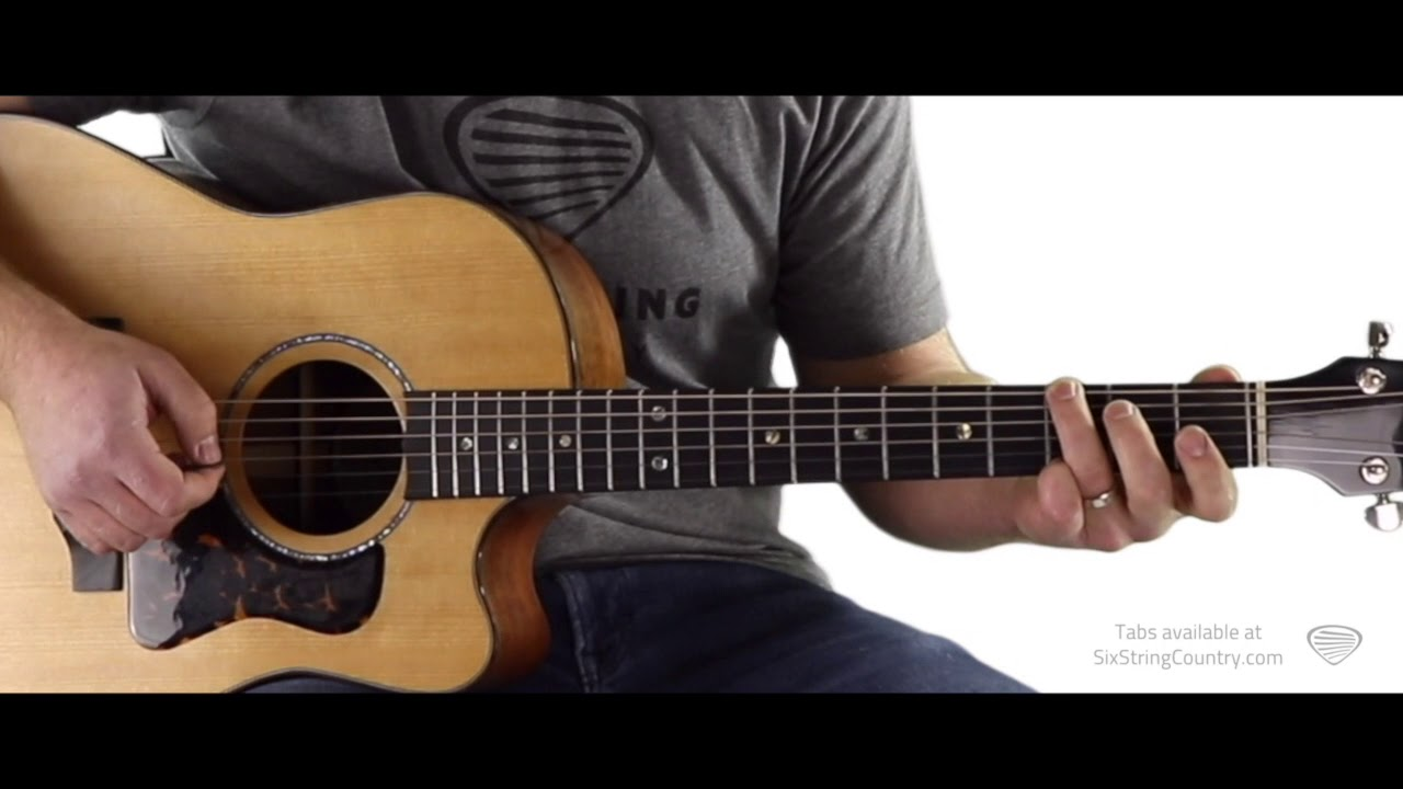 12 Bar Acoustic Country Blues – Free Guitar Lesson with Tony Bakker