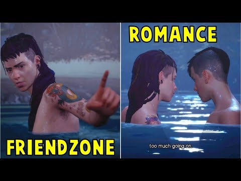 Sean Friendzone VS Kisses Cassidy -All Choices- Life is Strange 2 Episode 3 Wastelands