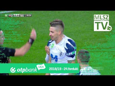 24. forduló: DVTK - PAFC 1-0 (0-0)