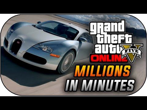 GTA 5 Online How To Make MILLIONS in Minutes – Make Money Fast & Get Easy Money (GTA V Gameplay)