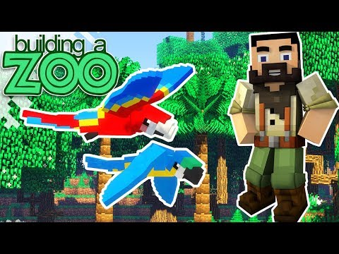 I'm Building A Zoo In Minecraft! - First Zoo Baby And New Mod! - EP05