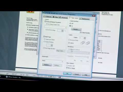 Epson Printer | How to Print Two-Sided (Duplex)