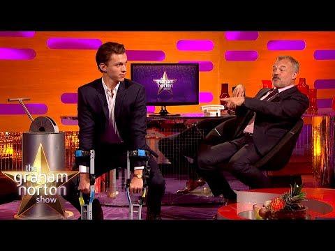Tom Holland Does an AMAZING Chimp Impression! | The Graham Norton Show