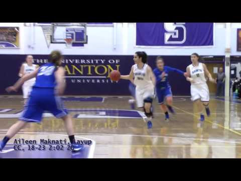 Marymount WBB: NCAA First Round vs Cabrini