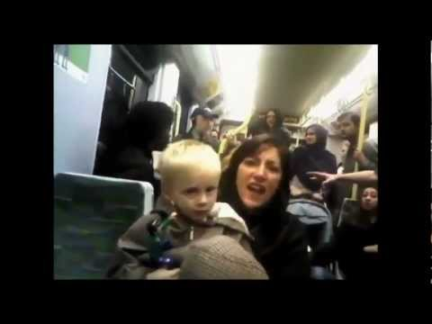 racist rant - A British mother was arrested by the British Transport Police for her racist rant (uploaded to YouTube as 'My Tram Experience'). Ana Kasparian and Cenk Uygur...
