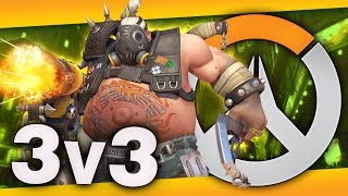 Overwatch 3v3 gameplay! Call me T.J. 'cause I'm getting all the hooks! Series Playlist: ...
