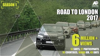 Video INDIA To LONDON By ROAD : 16000 km I 13 cars I 27 Participants I 18 Countries I  Road Trip MP3, 3GP, MP4, WEBM, AVI, FLV Oktober 2018