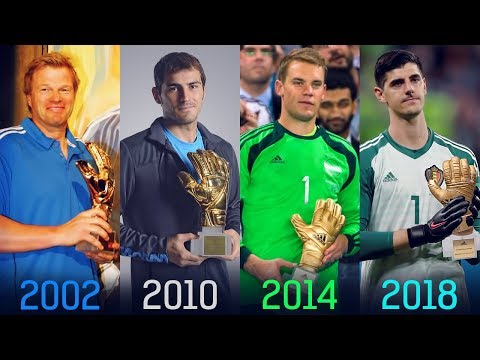 FIFA World Cup Golden Glove Winners II 1930 - 2018 II