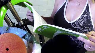 9. Cleaning the Air Filter on the Kawasaki KX100