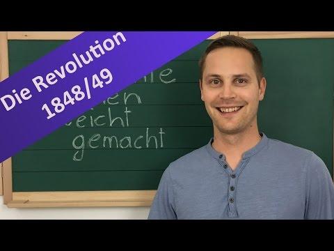 Die Revolution 1848 – Ursachen, Träger, Ziele, Verlauf und Auswirkungen