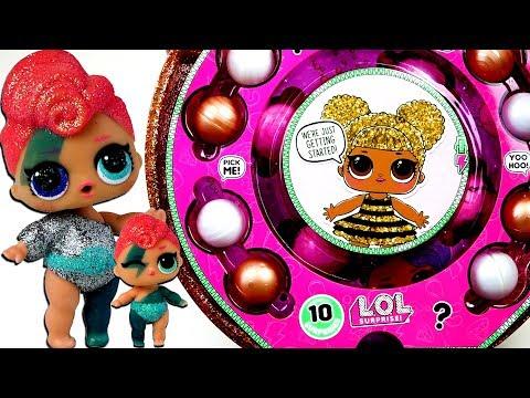 Огромный золотой шар LОL оригинал Мультик про ультра редкие живые куклы лол сюрприз и сестрички лол - DomaVideo.Ru