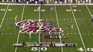 Michael Brockers vs Ole Miss 2011