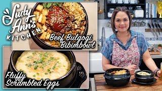 [Judy Ann's Kitchen 10] Ep 1 : Fluffy Scrambled Eggs, Bulgogi and Bibimbap | Korean Dishes