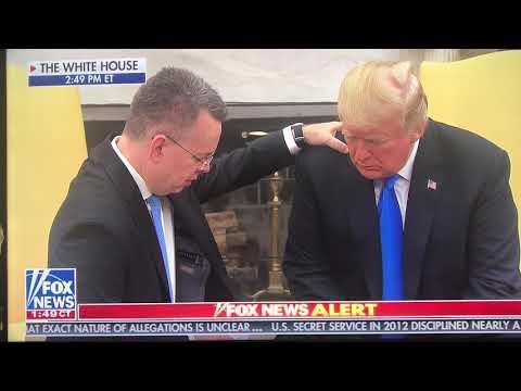 Ex-Turkey Captive Andrew Brunson Prays Over Trump