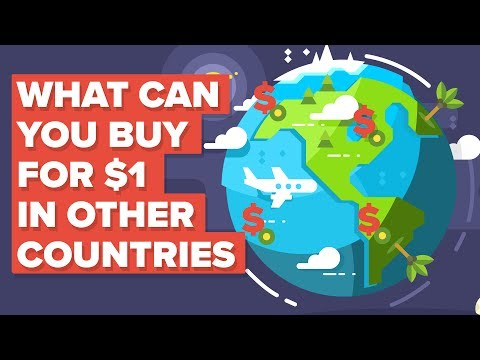 What a Dollar  1 Gets You Around the World
