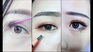 Video Hướng dẫn kẻ mắt và kẻ chân mày 🎀 Easy Eyeliner and Eyebrow  Tutorial For Beginners | Part 6 MP3, 3GP, MP4, WEBM, AVI, FLV Desember 2018