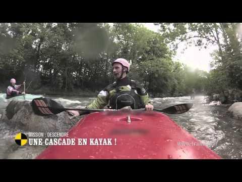 Mission : descendre une cascade en kayak ! – On n'est pas que des cobayes #cobayesF5