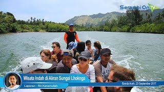 Wisata Indah di Aliran Sungai Lhoknga