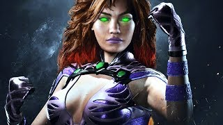 """Injustice 2 Starfire DLC Gameplay includes a Reveal of the DLC Character """"Starfire"""" and Bizarro Superman in Injustice 2 Single Player Campaign for PS4 Pro, Xbox One S and PC. This Full Game Injustice 2 Gameplay Walkthrough includes a Review, all Campaign Chapters, all Cutscenes, all Super Moves, All Character Stories Chapters, Multiverse, Brother Eye Vault, Diamond Mother Box and More until the Ending of the Single Player by theRadBrad. Subscribe: http://www.youtube.com/subscription_center?add_user=theRadBradTwitter: http://twitter.com//thaRadBradFacebook: http://www.facebook.com/theRadBradInjustice 2 Characters include: Aquaman, Atrocitus, Bane, Batman, Black Canary, Blue Beetle, Brainiac, Catwoman, Captain Cold, Cheetah, Cyborg, Darkseid, Deadshot, Dr. Fate, Flash, Firestorm, Gorilla Grodd, Green Lantern, Green Arrow, Harley Quinn, The Joker, Poison Ivy, Robin, Scarecrow, Supergirl, Superman, Sub-Zero, Swamp Thing, Spawn and Wonder Woman.Injustice 2 is a fighting video game being developed by NetherRealm Studios and published by Warner Bros. Interactive Entertainment. It is the sequel to 2013's Injustice: Gods Among Us. Injustice 2 is available for PlayStation 4 and Xbox One. Similar to the previous installment, a companion mobile app was released for iOS and Android devices.Since the Justice League's Superman had defeated the One Earth Regime's High Councillor Superman, Batman and his Insurgency have been working to piece back together the world. This hasn't been easy as they had to deal with the remnants of the Regime, a new villain group called """"The Society,"""" and the arrival of Brainiac."""